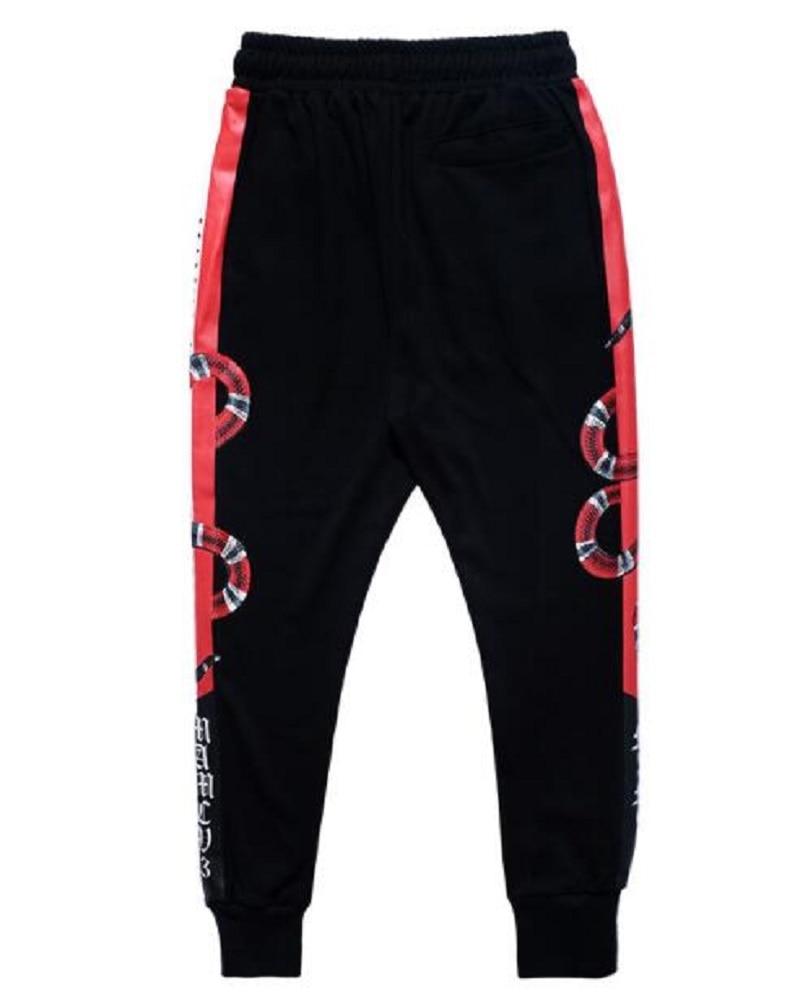 Mens Joggers Sweatpants 3d Print Snake Animal Fashion Fitness Bodybuilding Streetwear Casual Pants