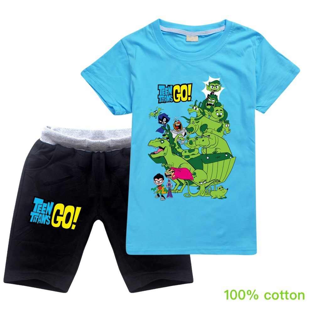 Kids Boys Girls Short Sleeve PRESTONPLAYZ Tshirt Shorts Set Outfits Summer