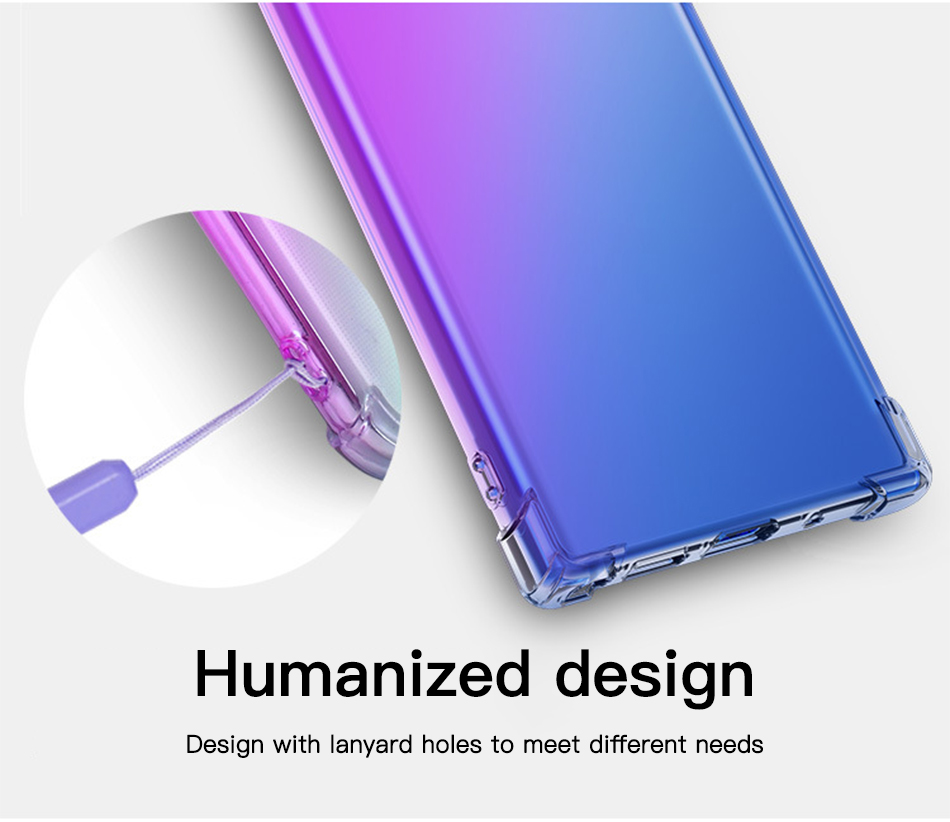 !ACCEZZ Luxury Colorful Case For Samsung Note 10 10+ Chic Style TPU Soft Ultra-thin For Note 10 10+ Protection Back Cover Shell (5)
