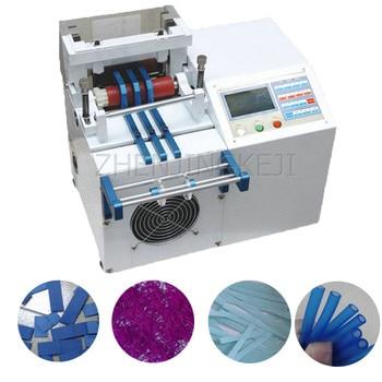 Microcomputer Automatic Feeding Pipe Cutting Machine 110V/220V Small PVC Heat Shrinkable Tube Slice Multi-purpose Tool Equipment недорого