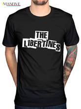 Official The Libertines Logo NEW T-Shirt ALL SIZES Merch Carl Doherty Pete Novelty Cool Tops MenS Short Sleeve Tshirt