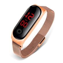 2020 Women Top Brand Luxury LED Digital Watch Fashion