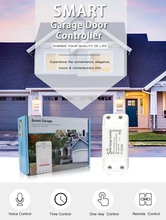 WiFi Switch Garage Door  remote for Car Garage Door with Alexa Google Home and IFTT Smart Life/Tuya APP Control Switch for ewelink wifi switch garage door controller for car garage door opener app remote control timing voice control alexa go