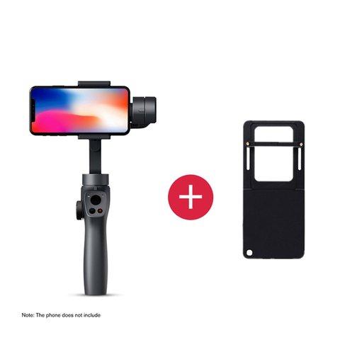 Estabilizador ao Vivo Compatível para Gopro Câmera de Ação Estabilizador Cardan Novo Handheld 4 – 5 6 7 Smartphones Capture2 Mod. 1385962
