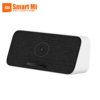 100% Original Xiaomi Wireless Charger Speaker Bluetooth 30W Max Qi Fast Charging NFC/BT For Xiaomi Phone iPhone 11 Samsung S10