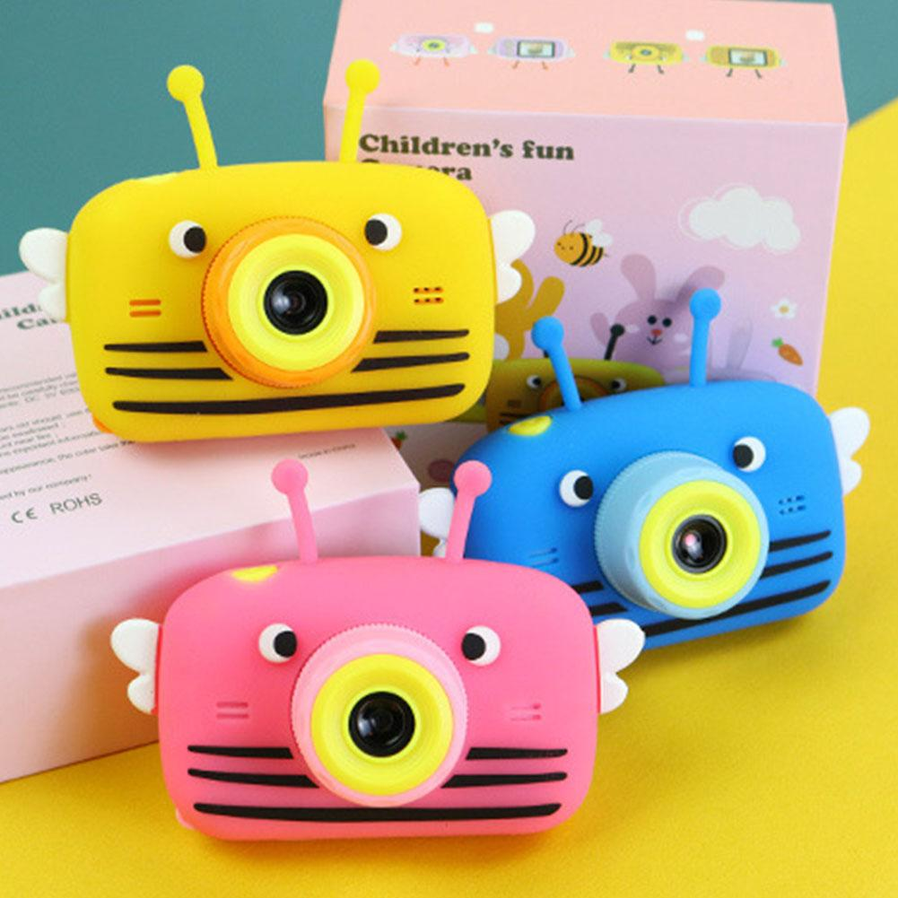 Kid Mini Camera Kids Educational Toys For Children Baby Gifts Birthday Gift Digital Camera 2000W Projection Video Camera