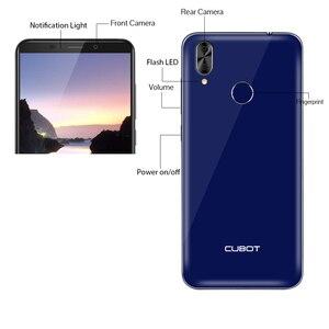 """Image 5 - Cubot j7 celular 5.7 """"18:9 exibir android 9.0 torta face id câmera traseira dupla 13mp 2800mah smartphone duplo sim cartão celular"""