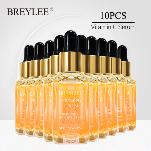 breylee vitamina c clareamento soro rosto iluminar a pele desvanece se manchas escuras sarda cuidados