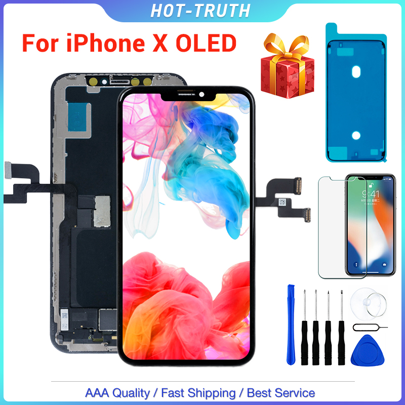 1PC ZY New OLED Quality LCD Screen For IPhone X XS XR 10 5.8