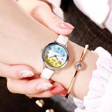 Luxury Brand Leather Quartz Women's Watch Ladies Fashion Women Wristwatches Clock relogio feminino masculino