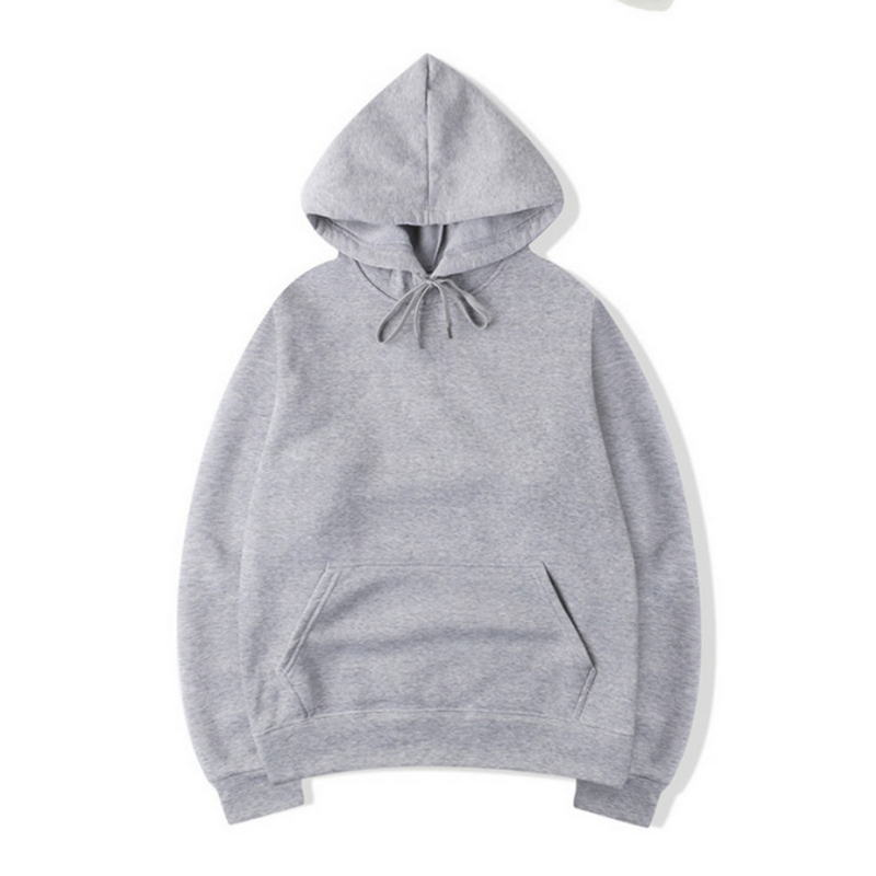 2020 Quality Brand New Fashion Hoodie Tops Men's Trend Wild Casual Hoodies Sweatshirts Solid Color Hooded Sweatshirt Male