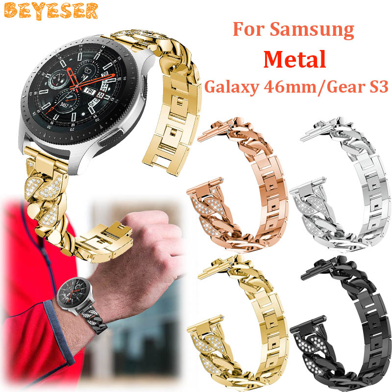 22mm For Gear S3 Frontier/Classic smart watch straps Bracelet belt Replacement For Samsung Galaxy watch 46mm bands wristband