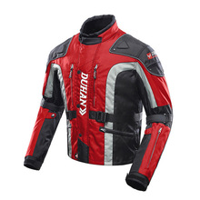 Autumn Winter Cold-proof Motorcycle Jacket Moto Protector Motocross Equipment Moto Jacket Touring Clothing Protective Gear