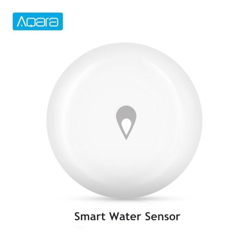 Aqara sensor de imersão de água de inundação detector de vazamento de água para casa sensor de imersão de alarme remoto segurança