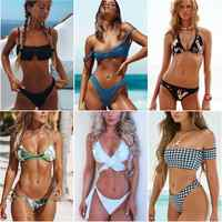 Simple Solid Bikinis Set Women Swimsuits Push Up Variety Style Bikini Swimwear Famale Beachwear Bathing suits Super Discount