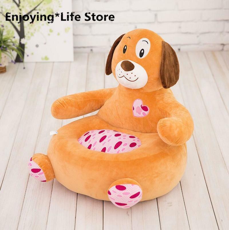 Детский диван, мягкая подушка в виде животного, мягкая игрушка, кукольные стулья для детского сада, напольная подушка, подушка для стула, под... - 3