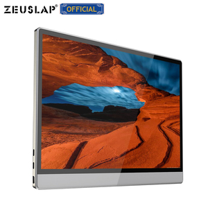 Image 1 - ZEUSLAP NEW 15.6inch Battery Touching Portable Monitor touch screen for samsung s8,s9,huawei mate10,P30,macbook,ps4,switch