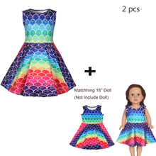 Baby Girl Clothes Princess Dress With Doll Halloween Costume Girls Birthday Party Vestidos 1221