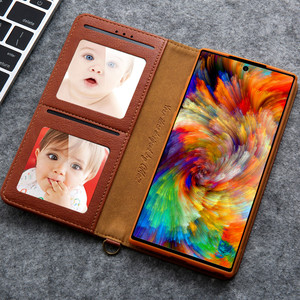 Image 2 - Wallet Case Flip Cover For Samsung Galaxy S20 Ultra S8 S9+ S10 5G NOTE 8 9 10+ Plus Photo Card Slot Magnetic Leather case funda