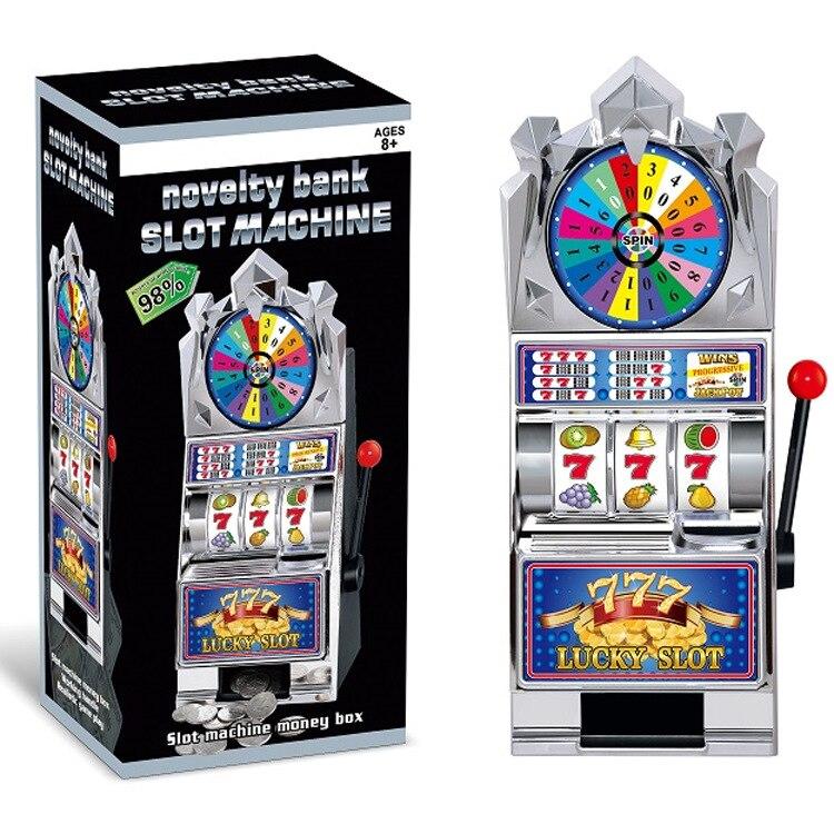 Children Creative Coin Bank Slot Machine Grand Slam Slot Machine Money Box Children'S Educational Toy Zhong Jiang Ji