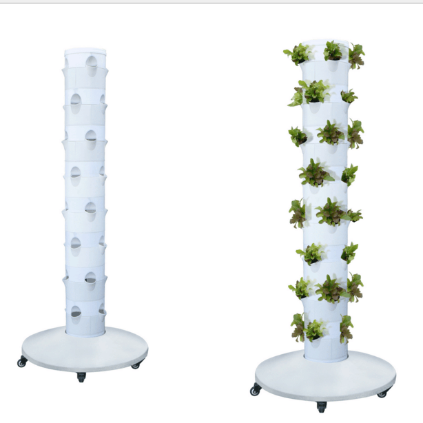 Skyplant Hydroponic New Type Vertical Tower Garden Hydroponic Growing System