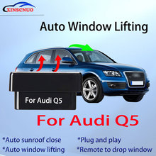 Auto Window Closer For Audi Q5 2009-2018 Vehicle Glass Car Accessory Remote Controller OBD Automatic Sunroof Open plug and play car auto sunroof closing closer for mitsubishi outlander automatic closing device of sunroof for automobile