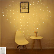 Память 2 м 124 светодиодная гирлянда для занавесок романтическая