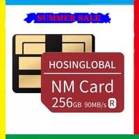 Tarjeta de memoria nano para Huawei Mate40, Mate30, X Pro, P30, P40, serie Pro, Nova5, 6 MatePad, versión nueva de 256, lectura de 90 MB/s, 2021 GB