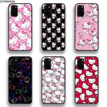 H-Hellos K-Kittys Phone Case For Samsung Galaxy S20 FE plus Ultra S6 S7 edge S8 S9 plus S10 5G lite 2020