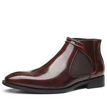 Chelsea Boots Mens Fashion Shoes Vintage Ankle Comfortable High-Quality