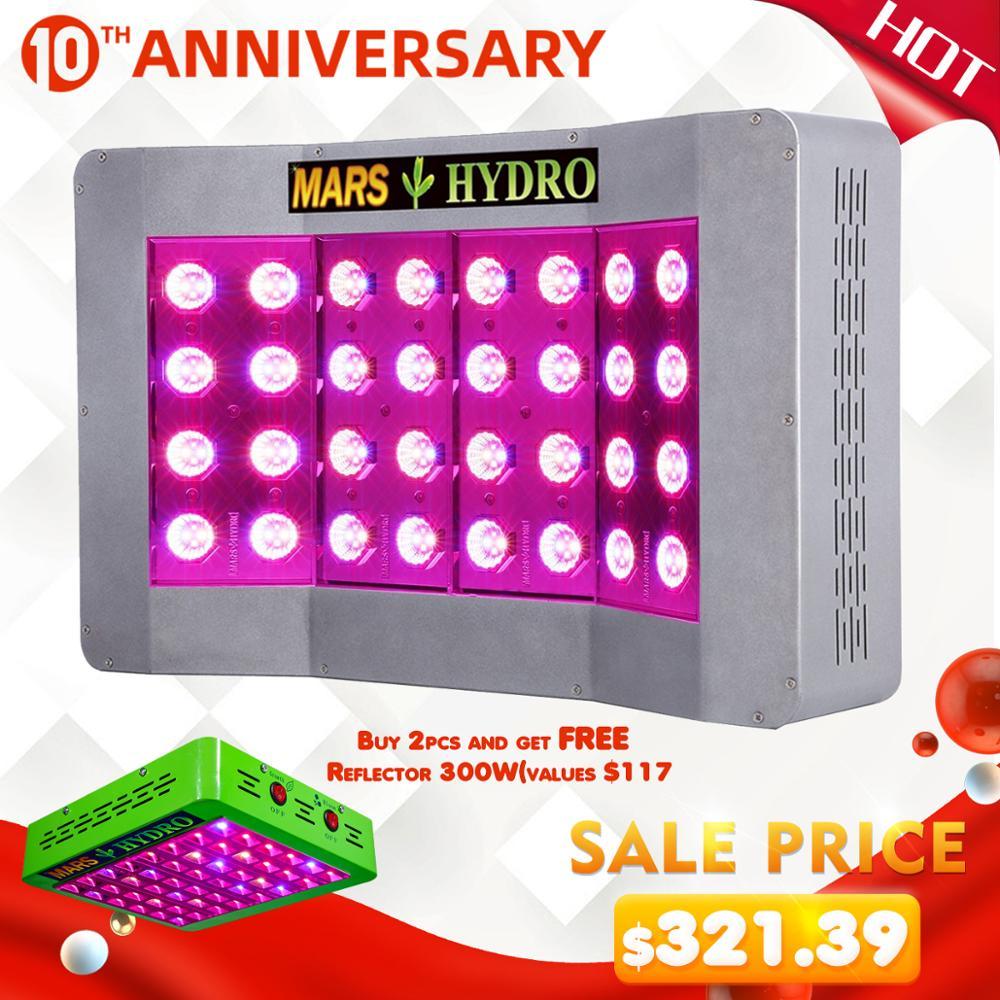 Mars Pro II CreeLEDs 600W Led Grow Light Full Spectrum Veg Bloom For Indoor Plant Growing Tent Box