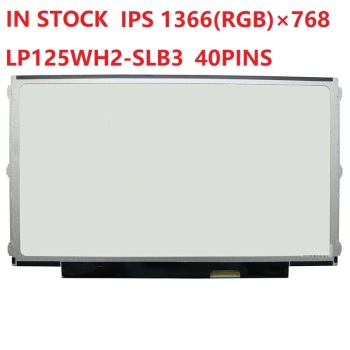 LED IPS 12.5 HD Lenovo Thinkpad X220 X230 FRU 04W3462 04W3919 40 Pins LCD Screen Display Left+Right 3 Screw Holes No-Touch image