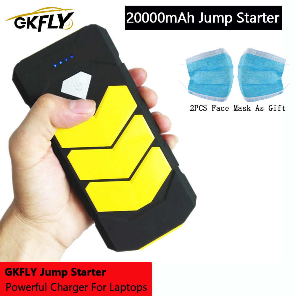 GKFLY Emergency 20000mAh Starting Device 12V 400A <font><b>Car</b></font> <font><b>Battery</b></font> <font><b>Charger</b></font> Petrol Diesel <font><b>Car</b></font> <font><b>Jump</b></font> <font><b>Starter</b></font> Power Bank <font><b>Car</b></font> <font><b>Charger</b></font> LED image