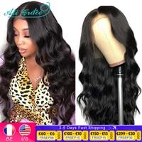 Ali Grace Body Wave Lace Front Wig 28 inch Body Wave Human Hair Wigs for Women Brazilian Pre-Plucked Lace Front Human Hair Wigs 1