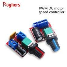 Módulo de controlador de velocidad del Motor de CC PWM de 5V-35V, 5A, 90W, interruptor de placa de ajuste, regulación de velocidad LED, módulo oscurecimiento de 12V y 24V, 1 Uds.