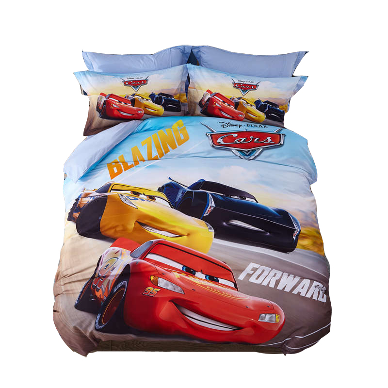 Cars RSN Jackson Storm Queen Quilt Cover Set Flat or Fitted Sheet