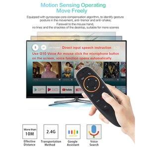 Image 3 - Giroscopio L8STAR G10S, Aero mouse, 2,4G, inalámbrico por voz, ratón remoto, TV para LG, Android tv box, Smart TV
