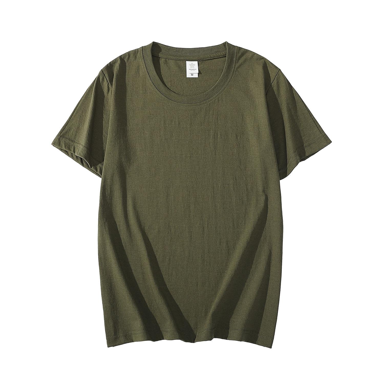 MRMT 2020 Brand New Cotton Men's T-shirt Short-sleeve Man T shirt Short Sleeve Pure Color Men t shirt T-shirts For Male Tops