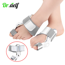 1PCS Bunion Device Hallux Valgus Toe Correction Orthopedic Braces Separator Thumb Big Bone Corrector Orthotics Foot Care Tools foot hallux valgus correct correction big toe bunion separator corrector orthotics toe separator bandage cover cocks bunion pads