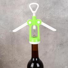 Пластиковая открывалка для бутылок вина, домашний пробковый штопор, кухонные инструменты для питья, пластиковая нержавеющая сталь, кухонный необходимый гаджет