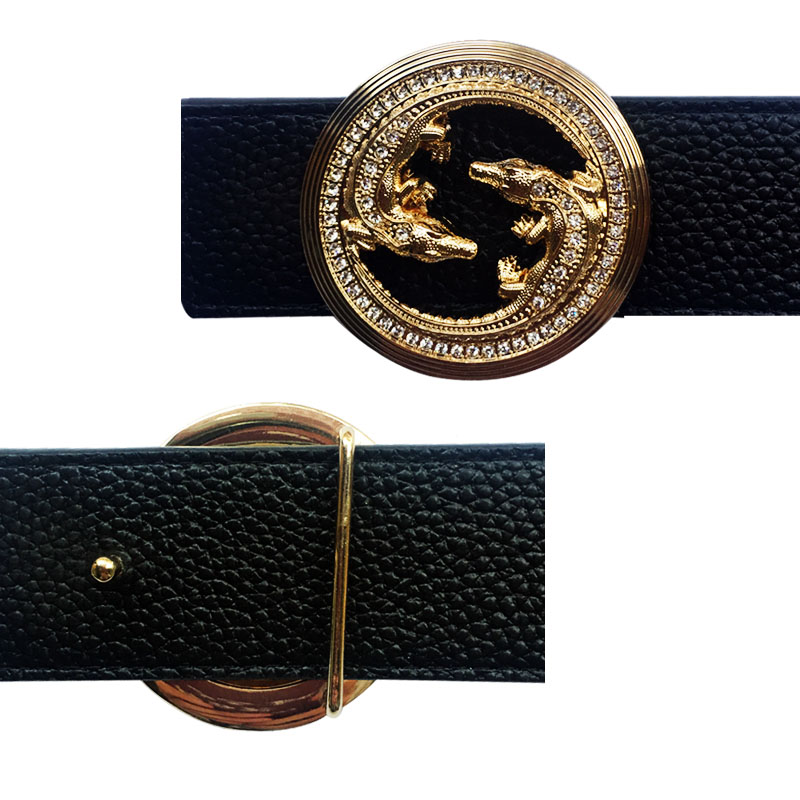 New Arrival Metal Accessories Western Animal Icon Men's Belt Buckles Suitable For 4 Cm Width Belts