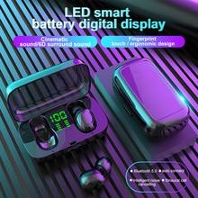 Tws Wireless Earphones for Swimming TWS Bluetooth Earphone IPX6 Waterproof Mini Sports Touc