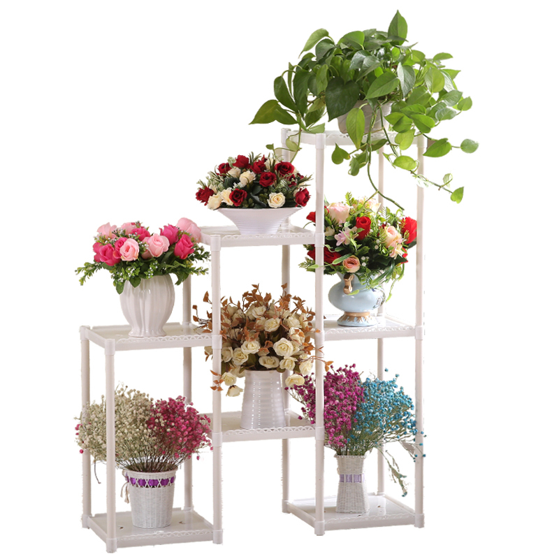 Flower Stand Floor Flower Stand Multi-layer Indoor Balcony Living Room Flower Pot