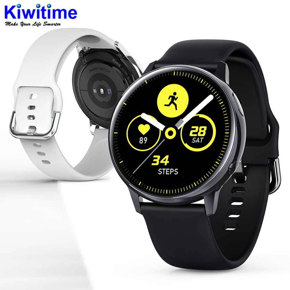KIWITIME SG2 Full Touch Amoled 390*390 HD Dello Schermo ECG Smart Vigilanza Wireless di Ricarica IP68 Impermeabile Frequenza Cardiaca BT 5.1 Smartwatch
