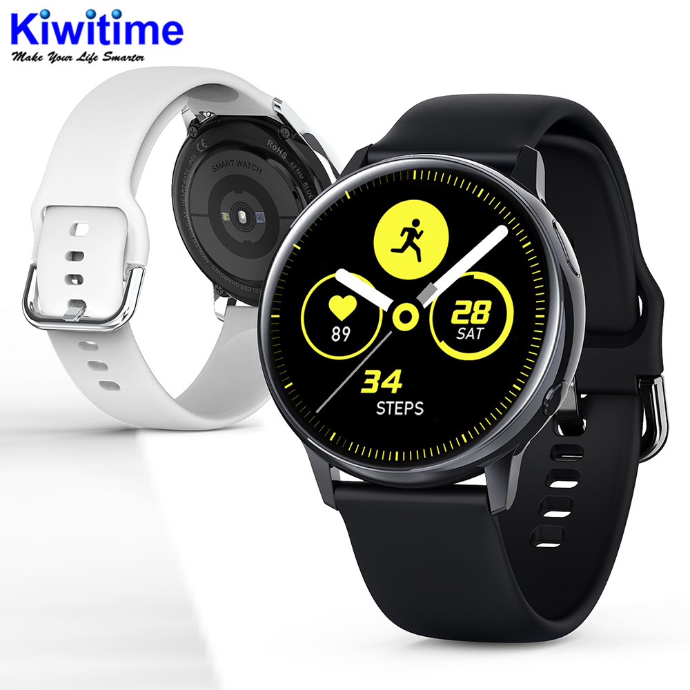 KIWITIME SG2 Full Touch Amoled 390 390 HD Screen ECG Smart Watch Wireless Charging IP68 Waterproof Heart Rate BT 5 1 Smartwatch