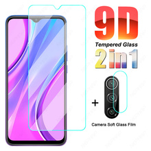9D 9H Full Tempered Glass For Redmi 9 9A 9C 9T Camera Lens Glass Film For Xiaomi Redmi Note 9 Pro 9S 9T Safety Protective Glass