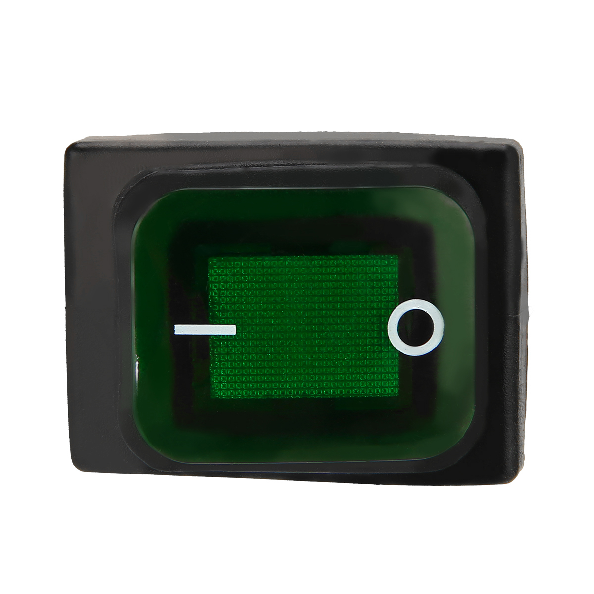 1x Green LED 220V Car Boat ON//OFF SPST 4 Pins Rocker Switch Waterproof Great