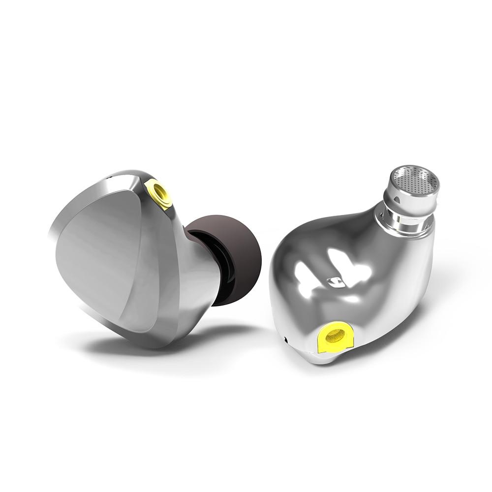 Ultimate Sale⌠In-Ear Earphone Armature-Driver Balanced Tri I3 Flat Hybrid HIFI AK Dynamic Composite