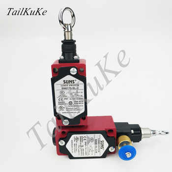 Three SUNX Pull Switch SN6170-SL-C-R Switch Safety Switch Emergency Stop Switch - DISCOUNT ITEM  5% OFF All Category