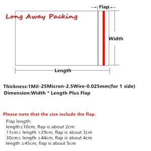 Image 5 - רוחב 30cm ברור Opp פלסטיק שקיות עם איטום איטום אריזת צלופן תיק מסיבת חתונת מתנת תיק